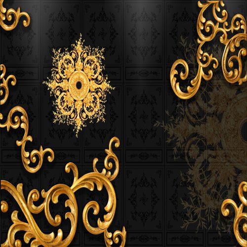 پوستر سه بعدی طرح گل کد 15