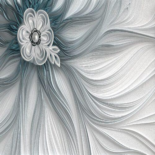 پوستر سه بعدی طرح گل کد 17