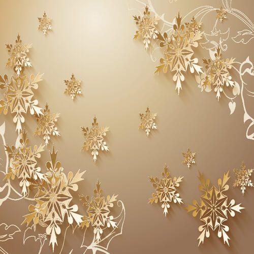 پوستر سه بعدی طرح گل کد 25