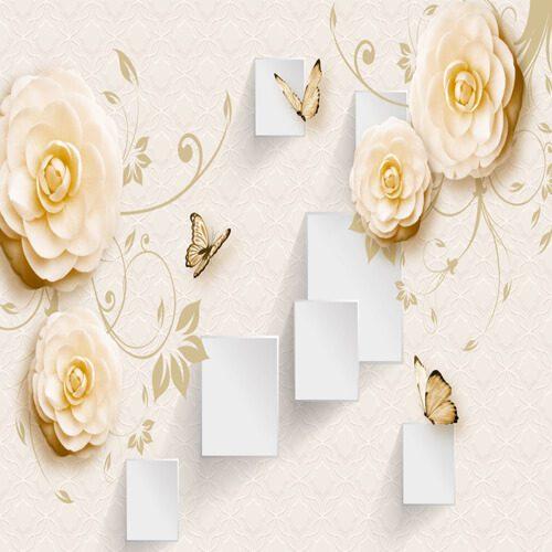 پوستر سه بعدی طرح گل کد 5