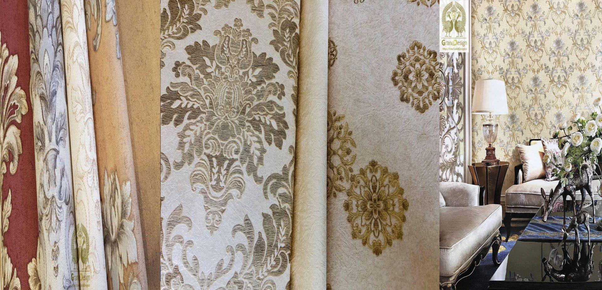 شرکت دکور چوب وارد کننده انحصاری آلبوم های کاغذ دیواری  گرند دیزاین