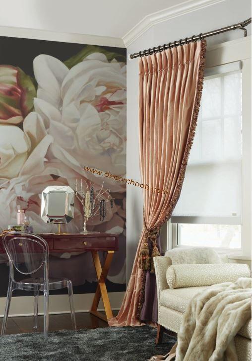 پوستر دیواری گلدار
