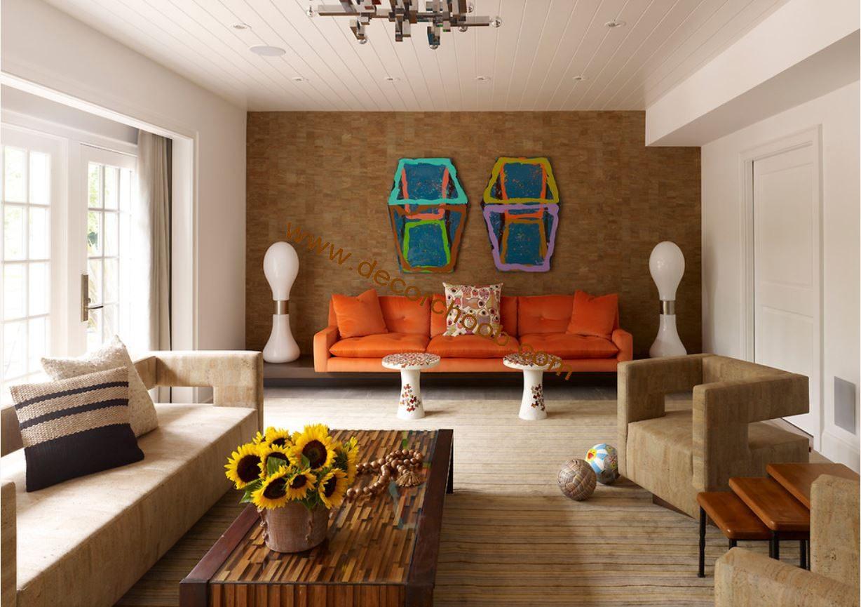 اتاق نشیمن مدرن ایرانی