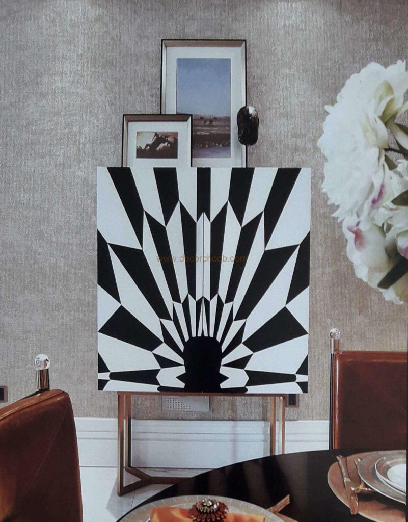 کاغذ دیواری شبک و تک رنگ از آلبوم کاغذ دیواری سنیور SENIOR