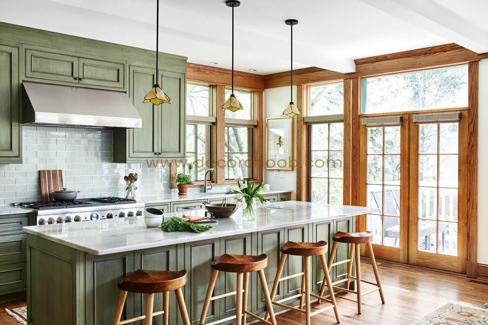 سبک طراحی آشپزخانه Craftsman