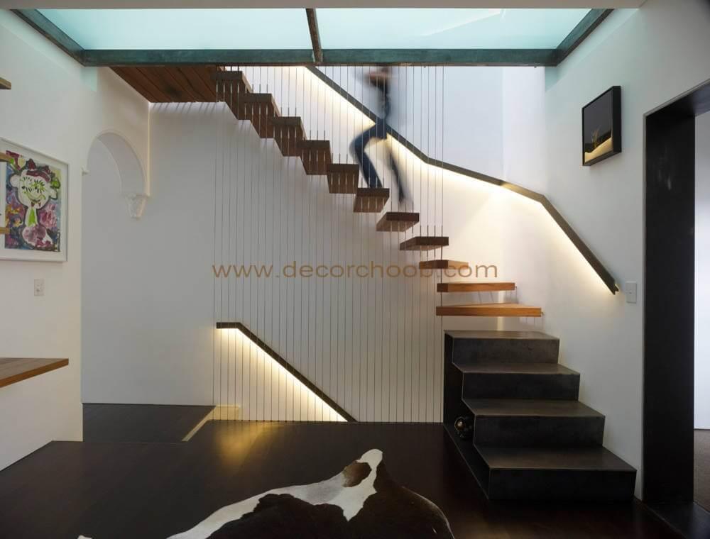 نورپردازی راه پله Illuminated Handrails 1