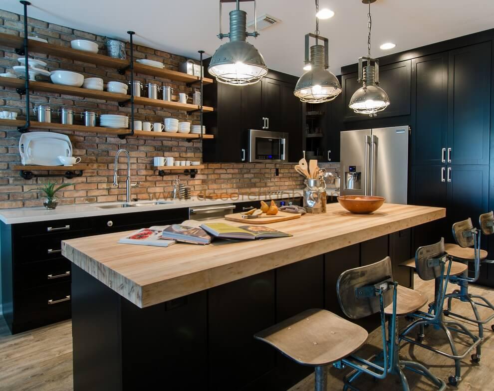 سبک طراحی آشپزخانه Industrial