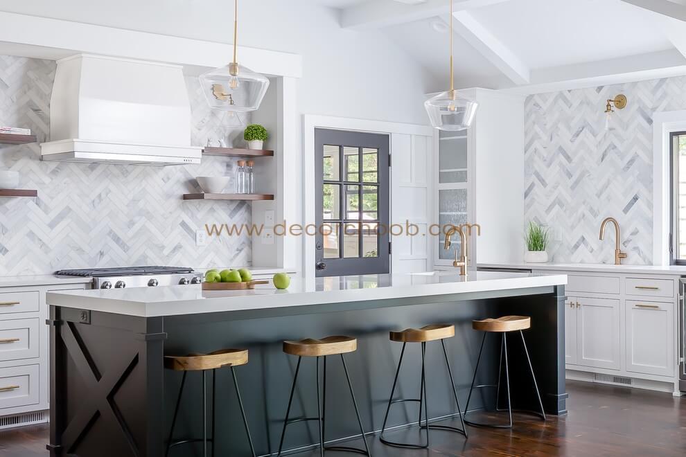 سبک طراحی آشپزخانه Transitional