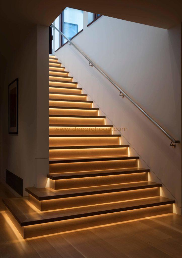 نورپردازی راه پله Treadlights
