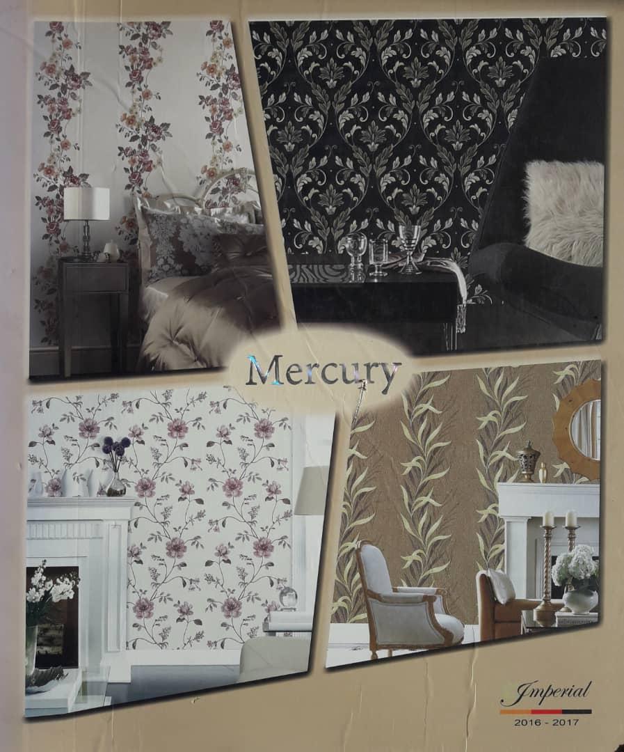 آلبوم کاغذ دیواری مرکوری Mercury
