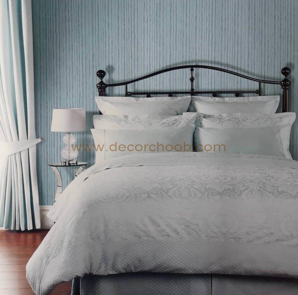 کاغذ دیواری آبی برای اتاق خواب