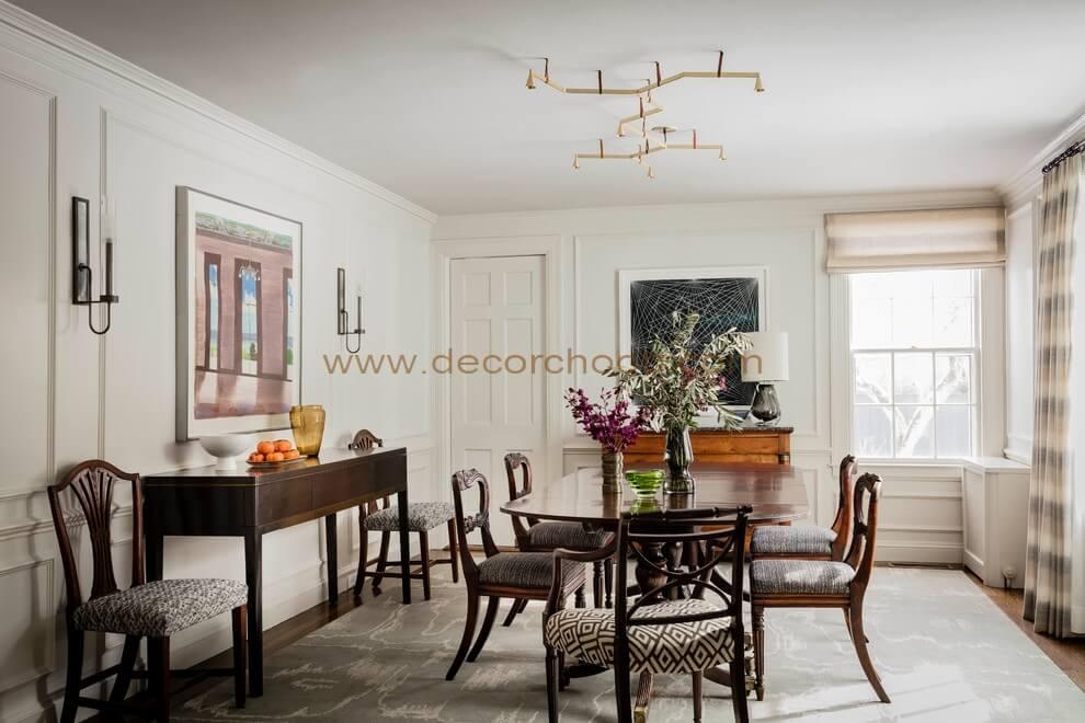 طراحی اتاق ناهارخوری