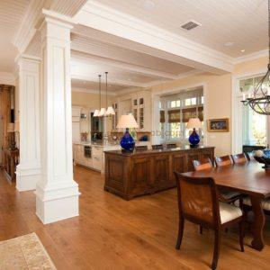 طراحی ستون وسط منزل با روش های کم هزینه