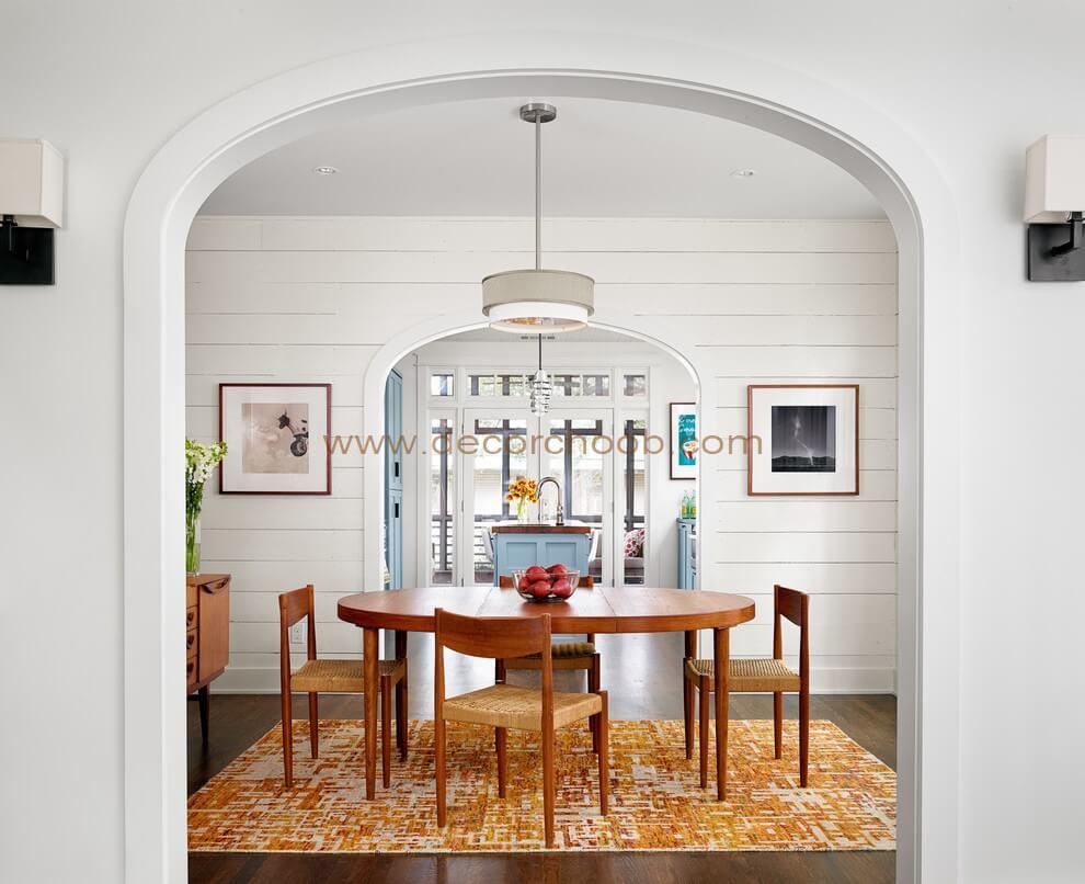 طرح و رنگ قالیچه میز ناهارخوری