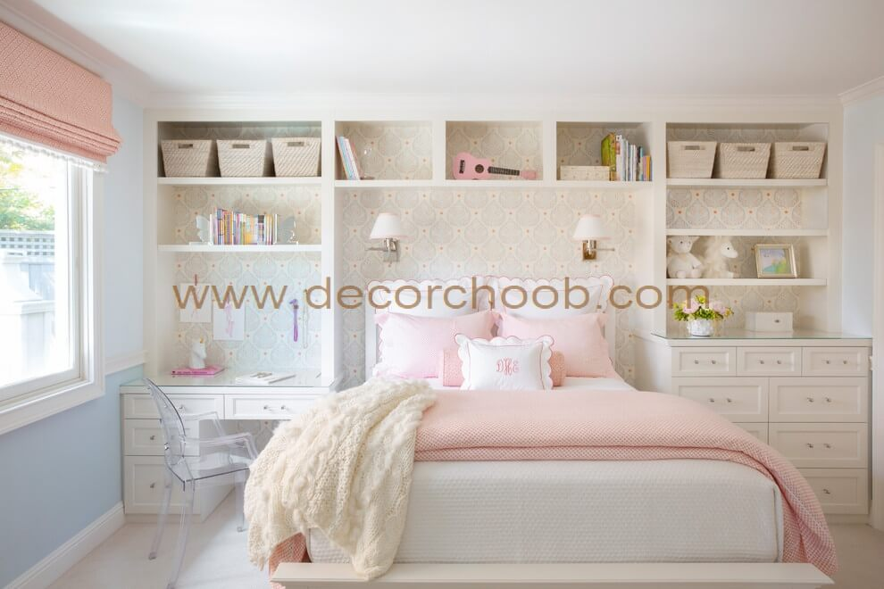 طراحی پشت تخت خواب