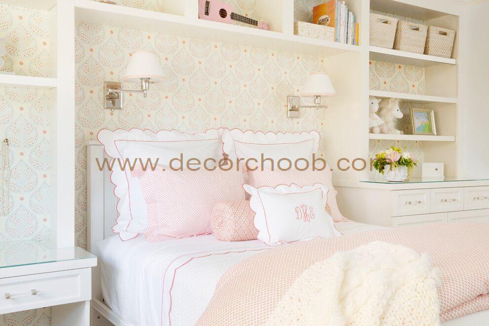 انتخاب رنگ بندی اتاق خواب دخترانه