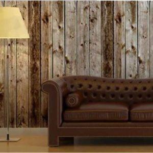 کاغذ دیواری طرح چوب برجسته