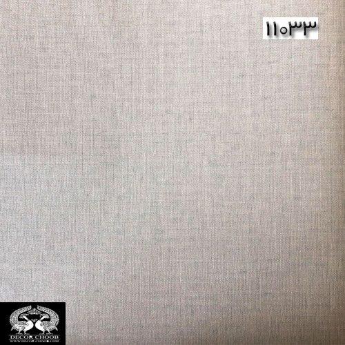 کاغذدیواری ساده طوسی کد 11033