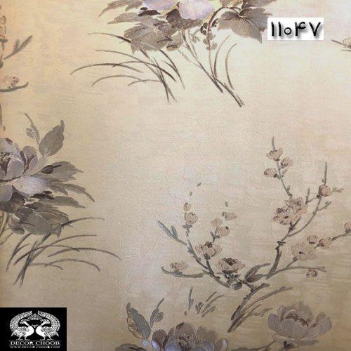 کاغذدیواری تیفانی رنگ خاکی