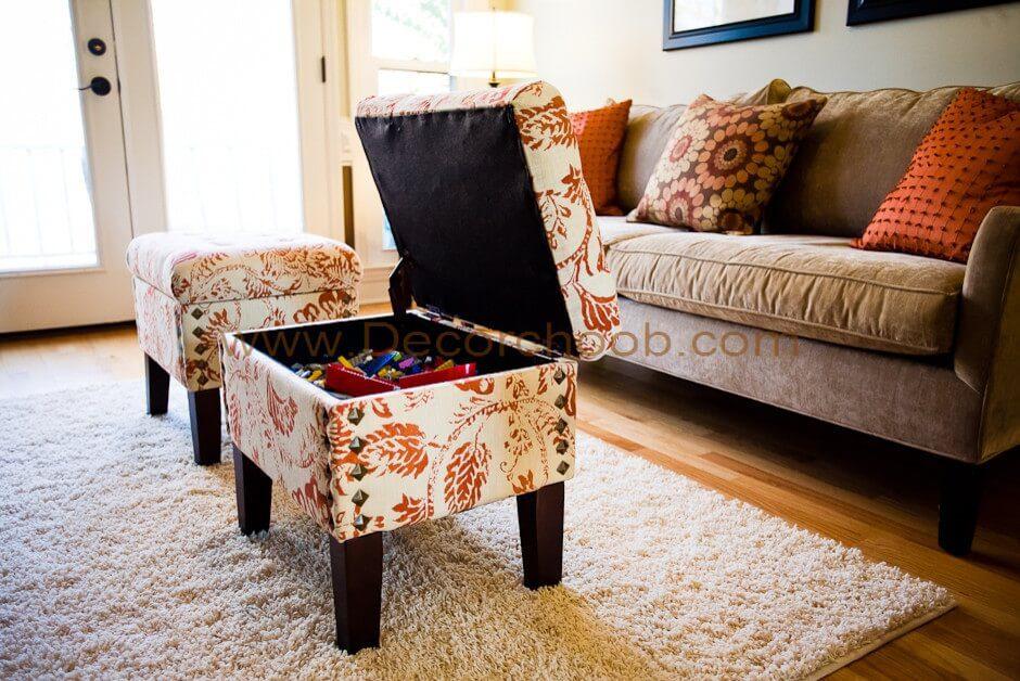 مبل های کوچک قفسه هایی کوچک برای وسایل شما