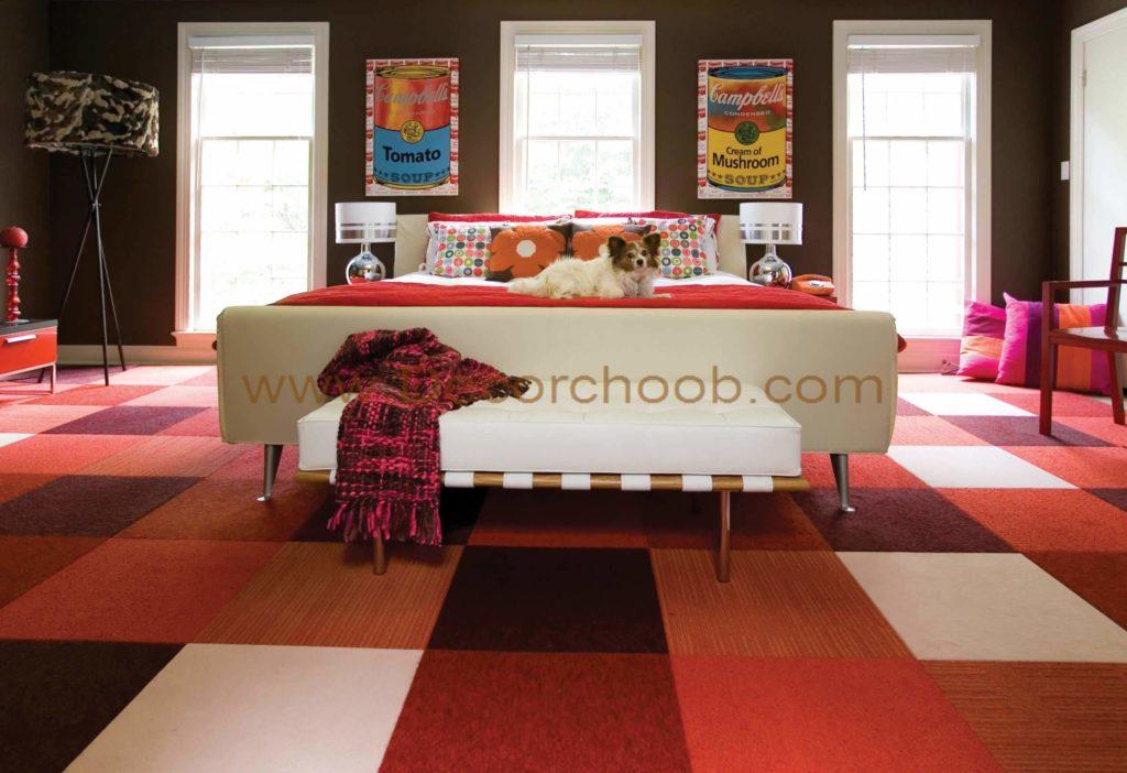 از فرش و موکت تایل استفاده کنید