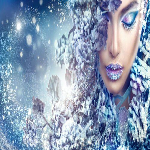 پوستر سه بعدی طرح چهره کد 12