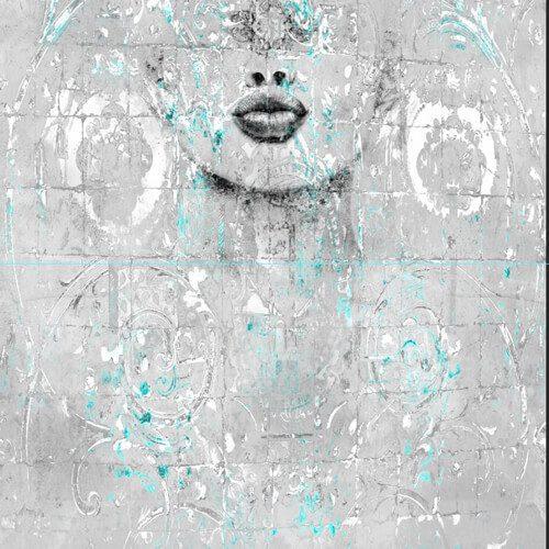 پوستر سه بعدی طرح چهره کد 17
