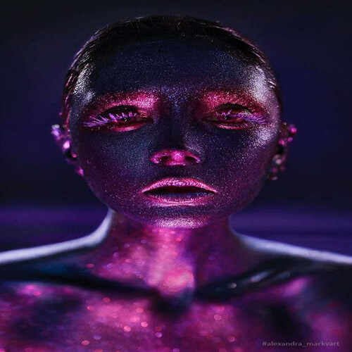 پوستر سه بعدی طرح چهره کد 22