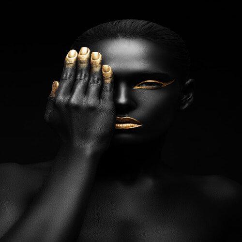 پوستر سه بعدی طرح چهره کد 4