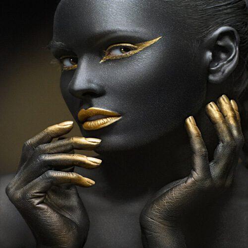 پوستر سه بعدی طرح چهره کد 6