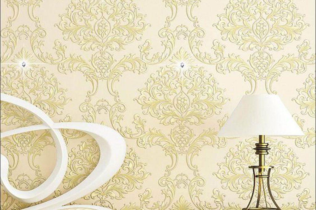 استفاده از کاغذ دیواری سفید طلایی برای چه قسمت هایی از منزل توصیه می گردد؟