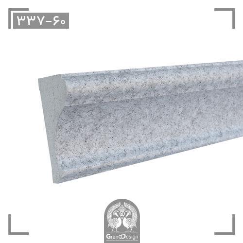 زیرگلویی پلی استایرن هوم لوکس (home lux)-سطح مقطع-کد 60-337